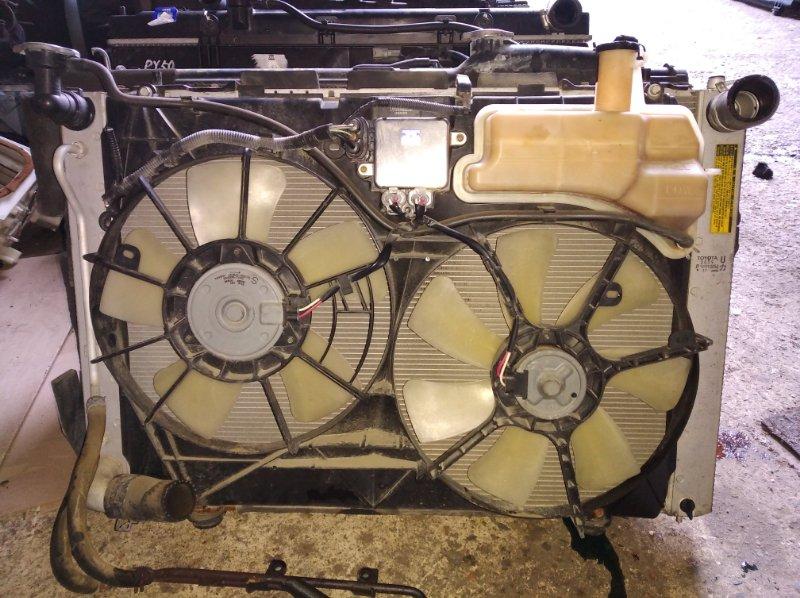Радиатор охлаждения Toyota Harrier MCU36 1MZ (б/у)