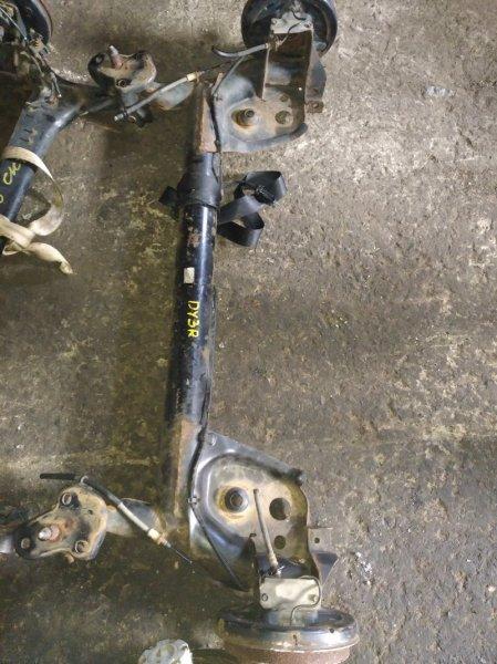 Балка со ступицами Mazda Demio DY3R ZJ задняя (б/у)