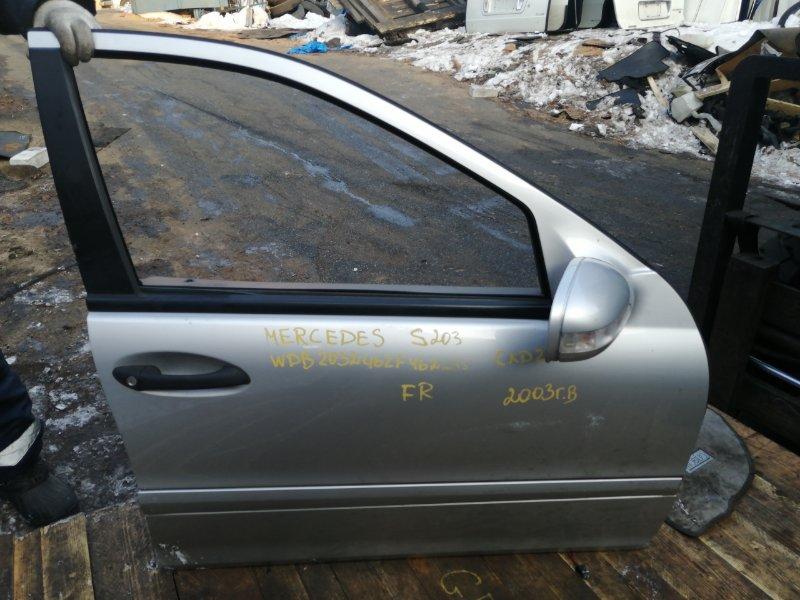 Дверь Mercedes-Benz C-Class W203 A271 2003 передняя правая (б/у)
