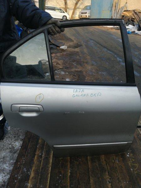 Дверь Mitsubishi Galant EA7A задняя правая (б/у)