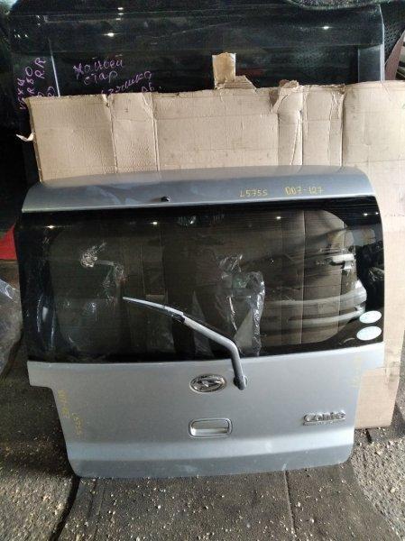 Дверь 5-я Daihatsu Move Conte L575S задняя (б/у)
