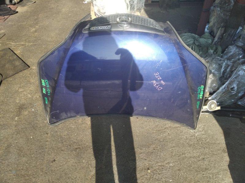 Капот Mazda Demio DY3W ZJVE (б/у)