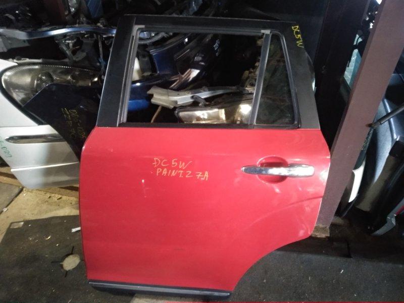 Дверь Mazda Verisa DC5W задняя левая (б/у)