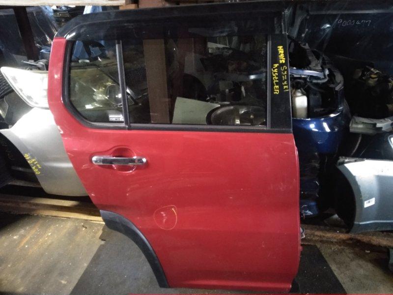 Дверь Suzuki Hustler MR41S задняя правая (б/у)