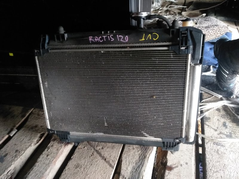 Радиатор охлаждения Toyota Ractis NCP120 (б/у)