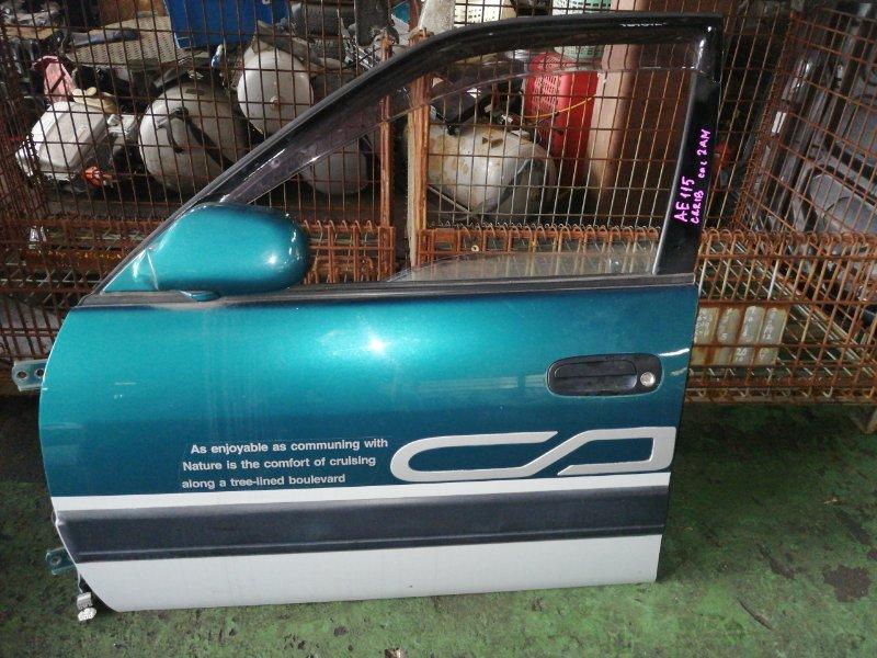 Дверь Toyota Carib AE115 передняя левая (б/у)