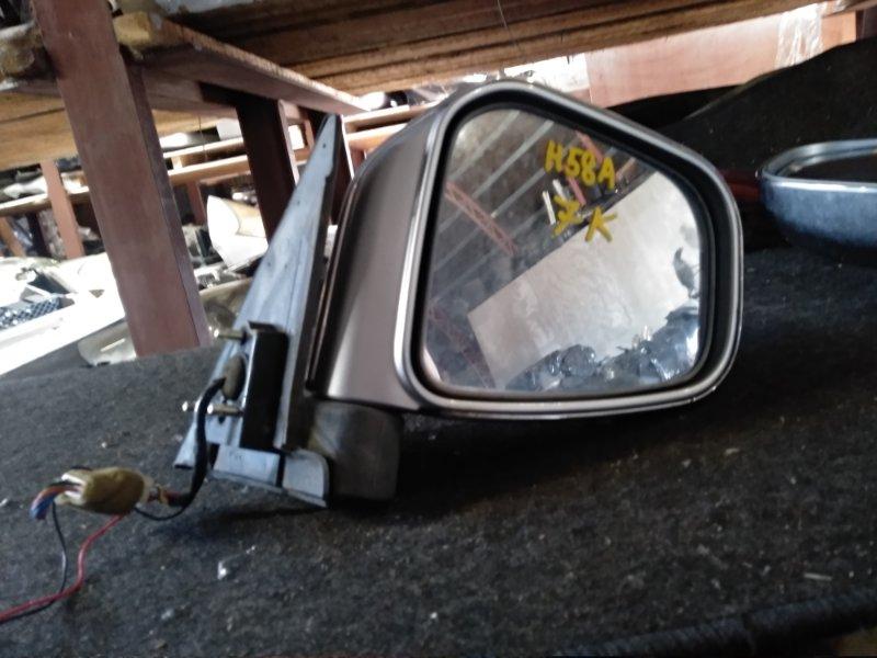 Зеркало Mitsubishi Pajero Mini H58A правое (б/у)