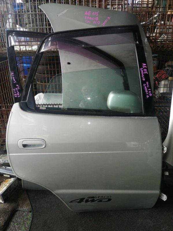 Дверь Toyota Spacio AE115 7A 2000 задняя правая (б/у)