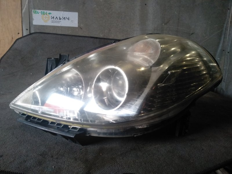 Фара Nissan Tiida C11 передняя левая (б/у)