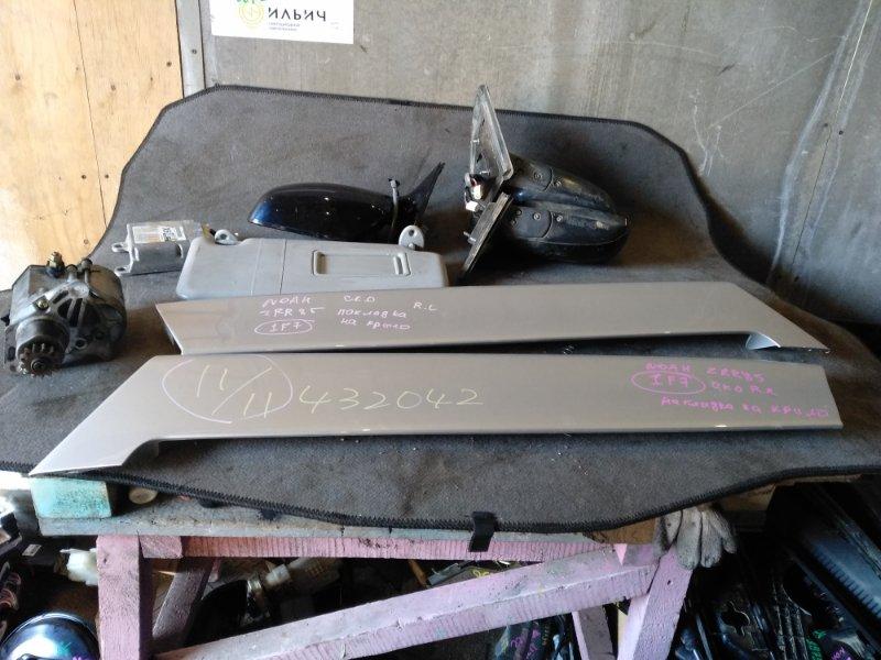 Накладка на крыло Toyota Noah ZRR85 задняя правая (б/у)