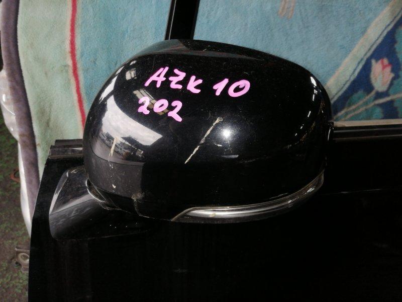 Зеркало Toyota Sai AZK10 2AZ-FXE 2010 левое (б/у)