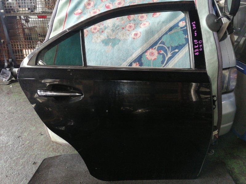 Дверь Toyota Sai AZK10 2AZ-FXE 2010 задняя правая (б/у)