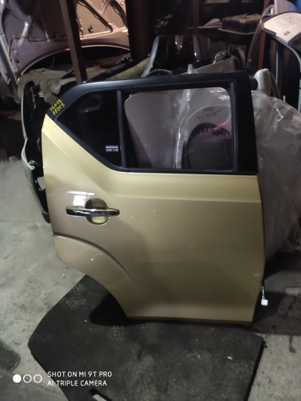 Дверь Suzuki Ignis FF21S задняя правая (б/у)