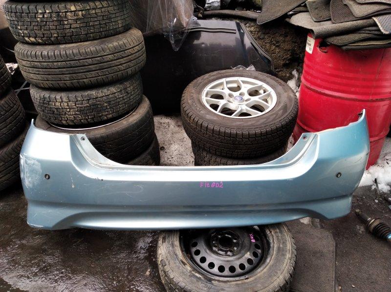 Бампер Honda Fit GD2 задний (б/у)