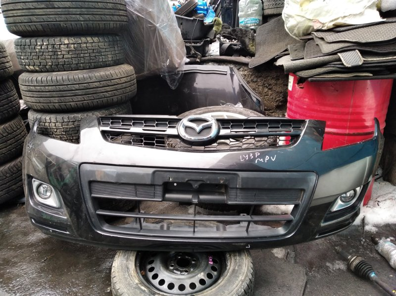 Бампер Mazda Mpv LY3P передний (б/у)