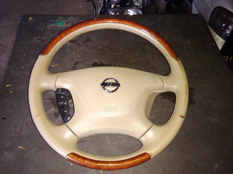 Руль Nissan Teana J32 (б/у)