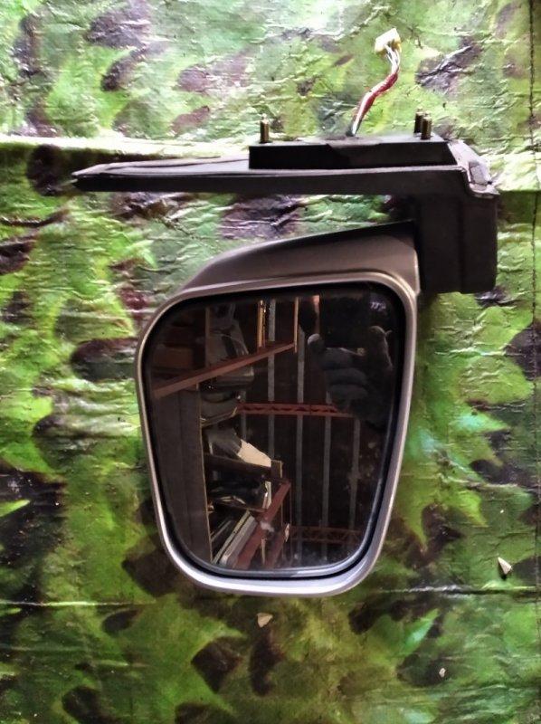 Зеркало Mitsubishi Pajero Io H77W левое (б/у)