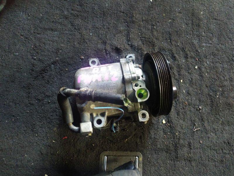 Компрессор кондиционера Nissan Liberty PNM12 SR20(DET) (б/у)