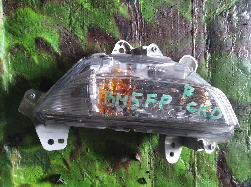 Повторитель в бампер Mazda Axela BM5FP правый (б/у)