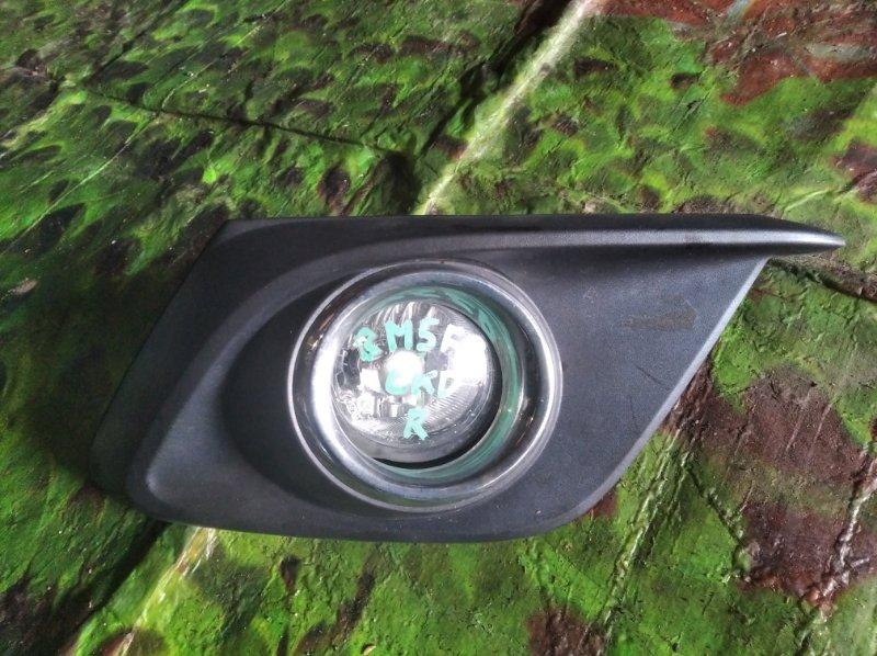 Туманка Mazda Axela BM5FP правая (б/у)