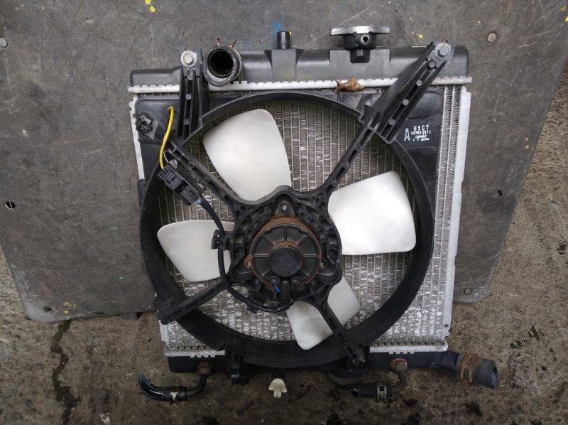 Радиатор охлаждения Mazda Demio DW3W B3 (б/у)