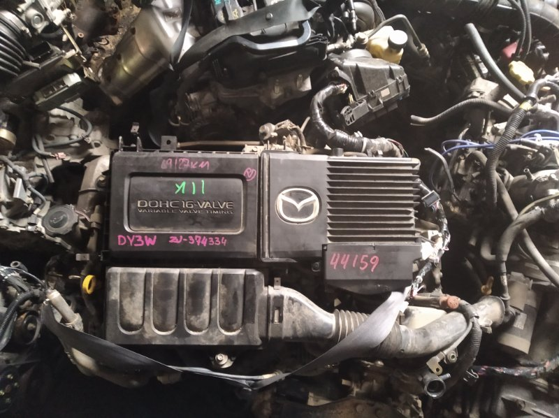 Двигатель Mazda Demio DY3W ZJ (б/у)