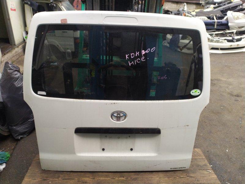 Дверь 5-я Toyota Hiace KDH200 (б/у)
