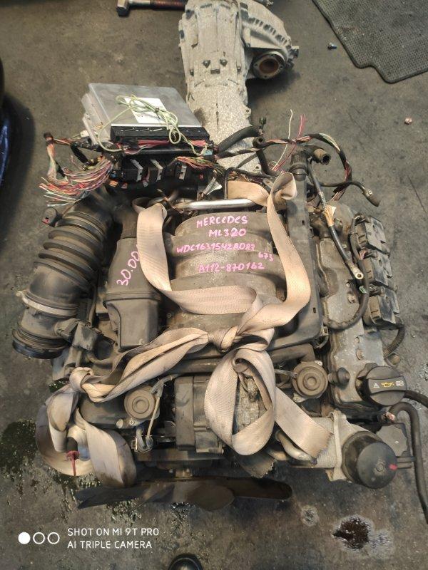 Двигатель Mercedes-Benz Ml320 W163 112942. M112E32 1998 (б/у)