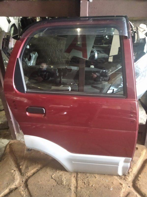 Дверь Toyota Cami J122G задняя правая (б/у)