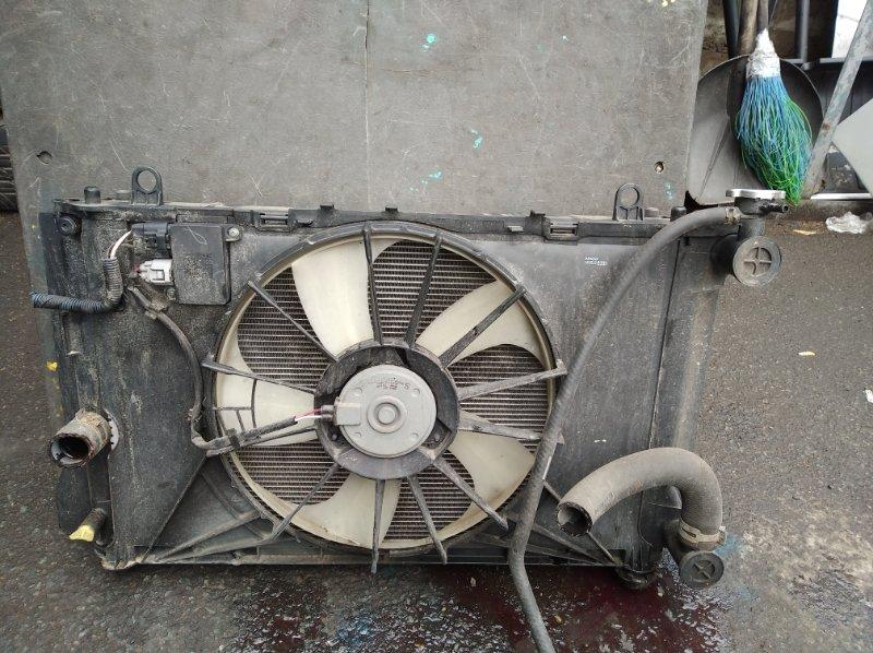 Радиатор охлаждения Toyota Corolla Fielder NZE144 1NZFE (б/у)