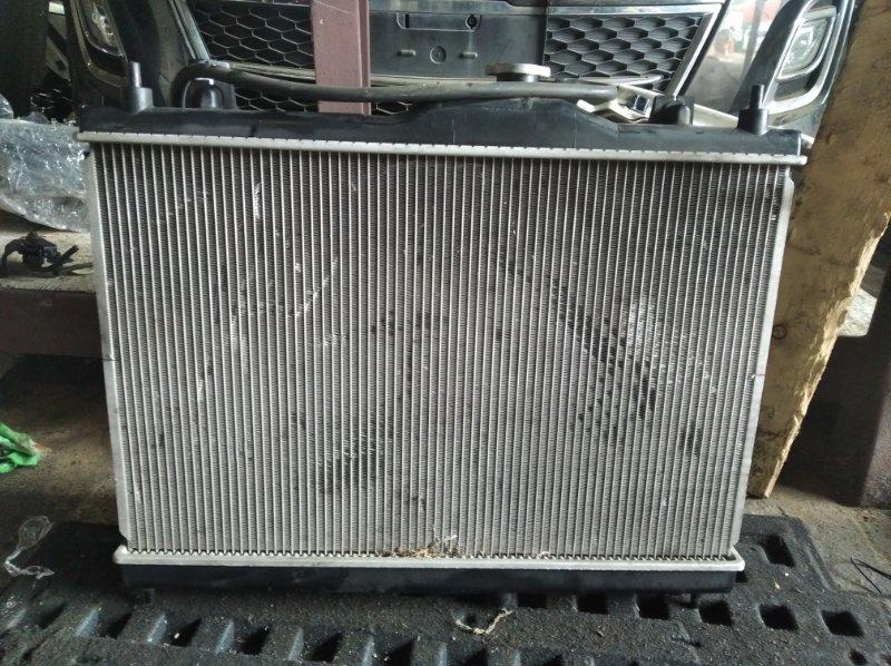 Радиатор охлаждения Nissan Tiida C11 HR15 (б/у)