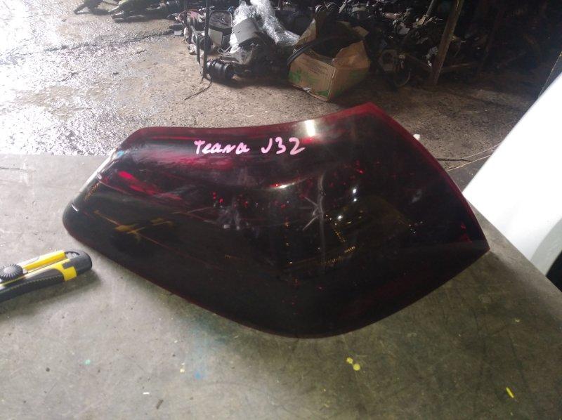Стоп-сигнал Nissan Teana J32 задний левый (б/у)