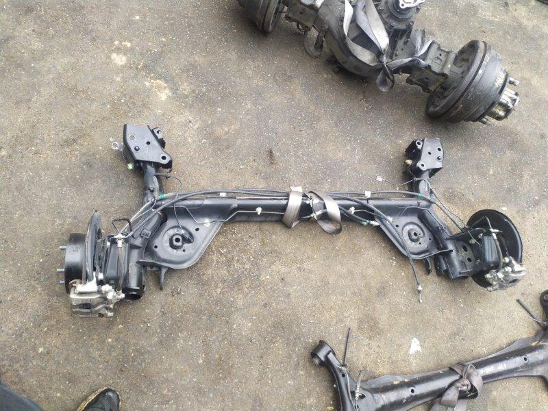 Балка со ступицами Nissan Juke F15 MR16DDT задняя (б/у)
