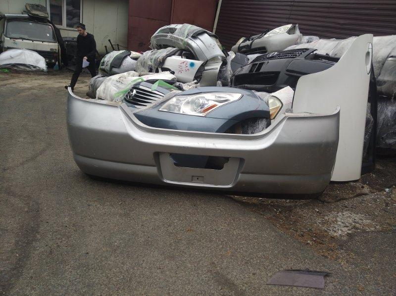 Бампер Nissan Tiida C11 задний (б/у)