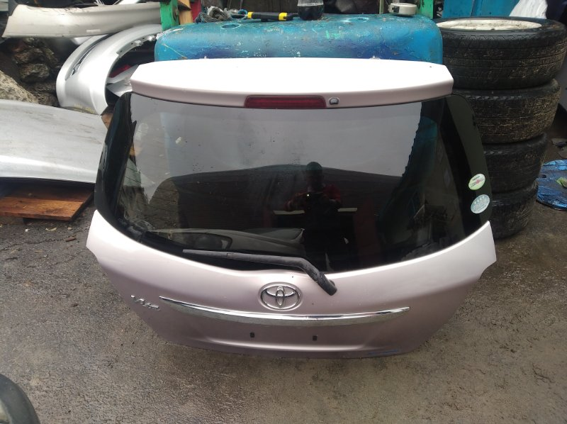 Дверь 5-я Toyota Vitz KSP130 (б/у)