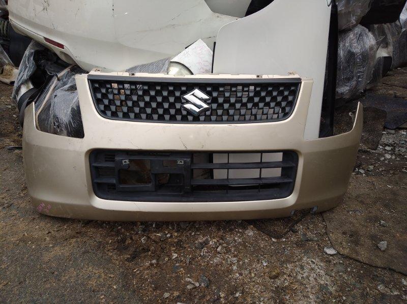 Бампер Suzuki Wagon R MH23S передний (б/у)
