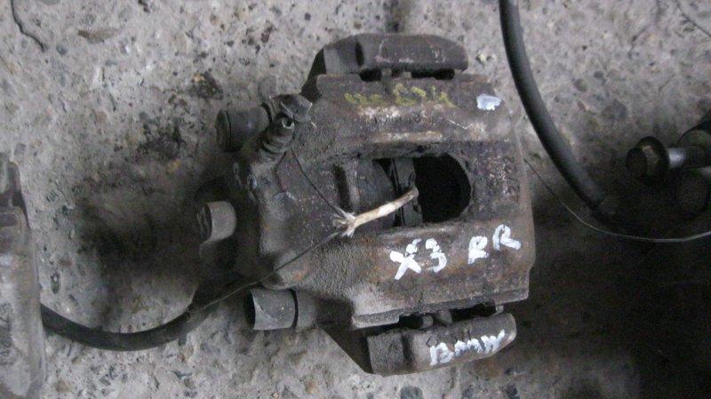 Суппорт Bmw X3 E83 256S5M54 задний правый (б/у)