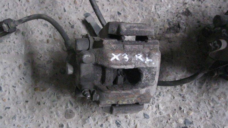 Суппорт Bmw X3 E83 256S5M54 задний левый (б/у)