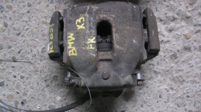 Суппорт Bmw X3 E83 256S5M54 передний правый (б/у)