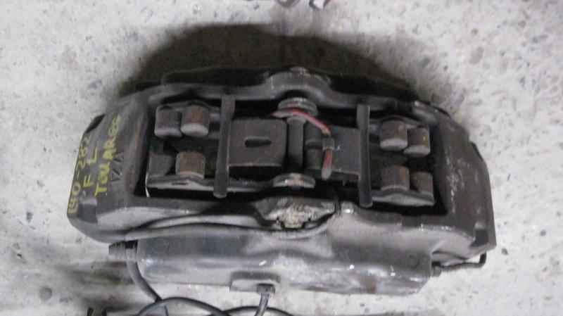 Суппорт Volkswagen Touareg 7L AZZ передний левый (б/у)