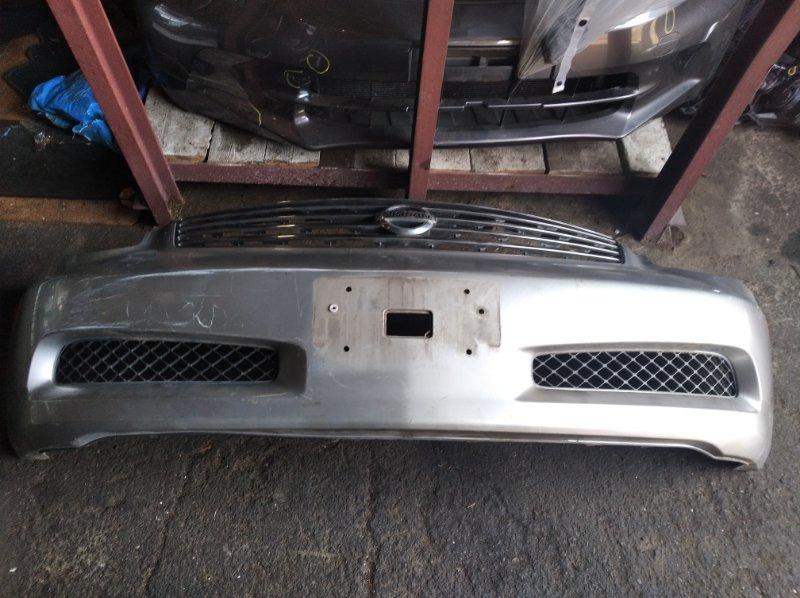 Бампер Nissan Skyline CPV35 передний (б/у)
