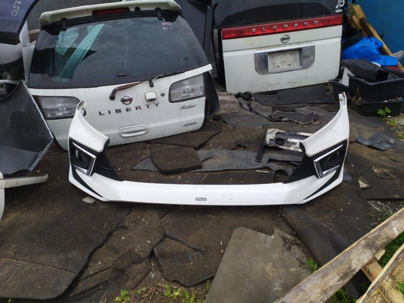 Губа Toyota Sienta NHP170 передняя (б/у)