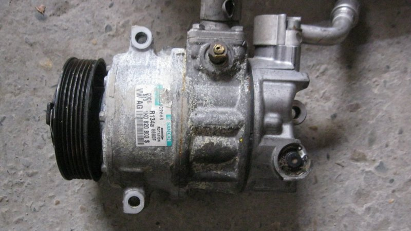 Компрессор кондиционера Audi A3 8PA BUB (б/у)