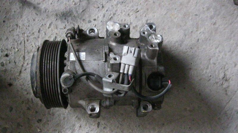 Компрессор кондиционера Toyota Crown GRS200 4GRFSE (б/у)