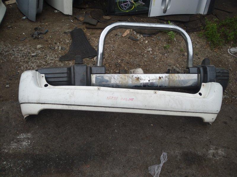 Бампер Toyota Probox NCP50 задний (б/у)