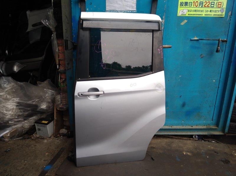 Дверь Mitsubishi Ek Space B11A задняя левая (б/у)