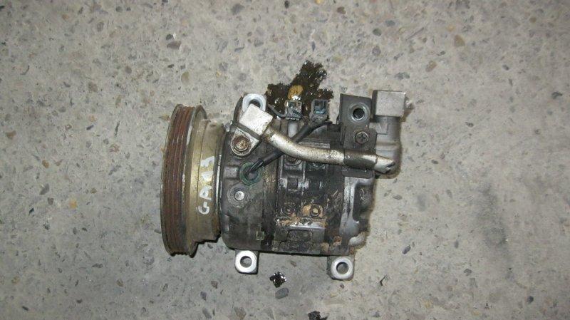 Компрессор кондиционера Nissan Sunny B13 GA13DS (б/у)