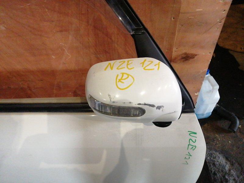 Зеркало Toyota Spacio NZE 121 переднее правое (б/у)