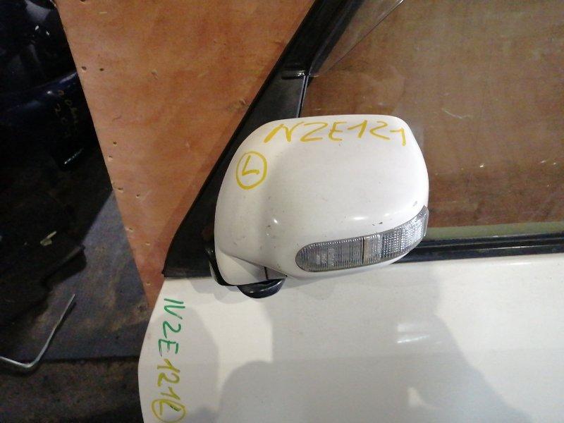 Зеркало Toyota Spacio NZE 121 переднее левое (б/у)