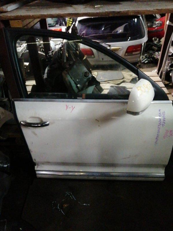 Дверь Volkswagen Touareg WVGCM77L24DO68451 передняя правая (б/у)